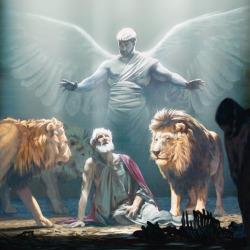 Daniel and angel