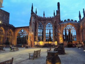 Coventry Cathedral ruins from image search