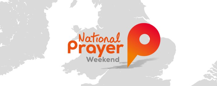 National Prayer Weekend banner