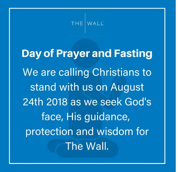 The Wall day of prayer 240818