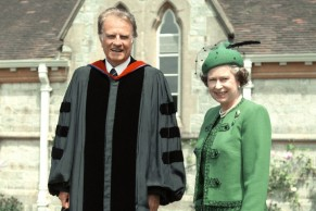 Queen and Billy Graham