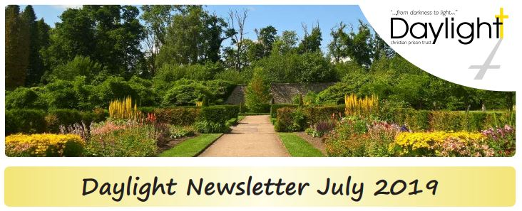 Daylight July 2019 newsletter header