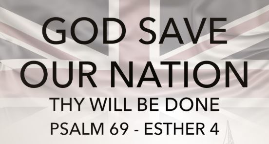God save our nation call to prayer Oct 2019