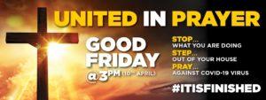 United in prayer Good Friday 2020