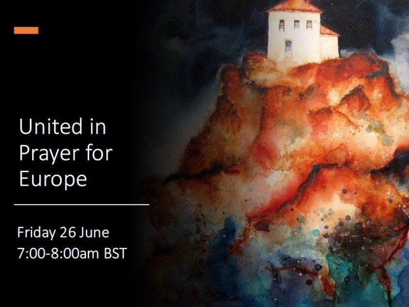 Prayer for Europe 260620