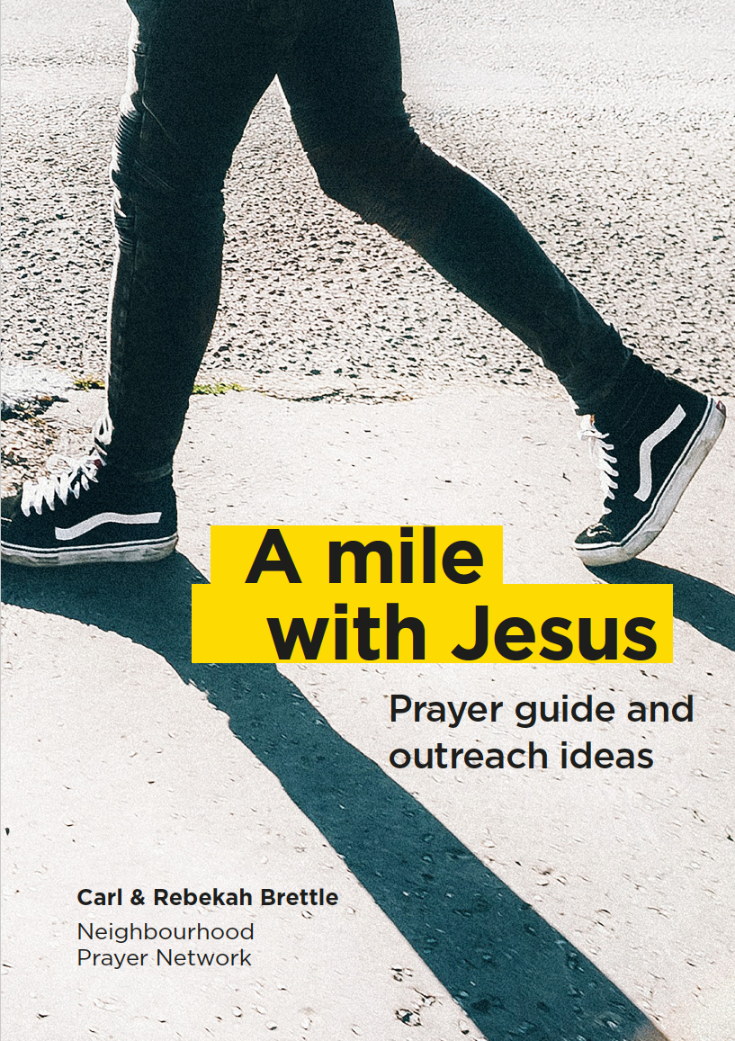 A Mile with Jesus book cover